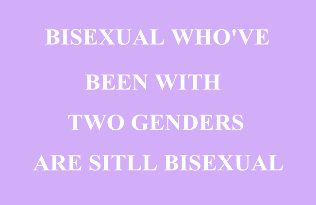 Bisexuality exists